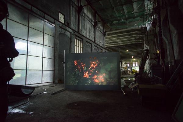 そらち炭鉱の記憶アートプロジェクト / Photo by Akiyoshi Kitagawa