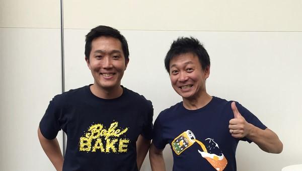 左:BAKE長沼 右:ヤッホーブルーイング井手社長