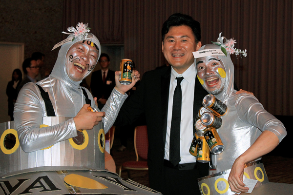2014年 楽天ショップオブザイヤー2013授賞式・三木谷社長と