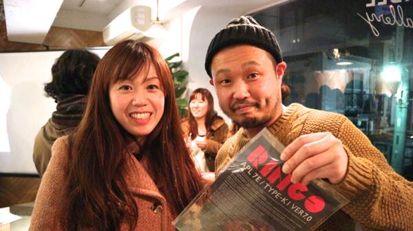 インテリアデザイナーの内田真織さんと、BAKEの貞清さん